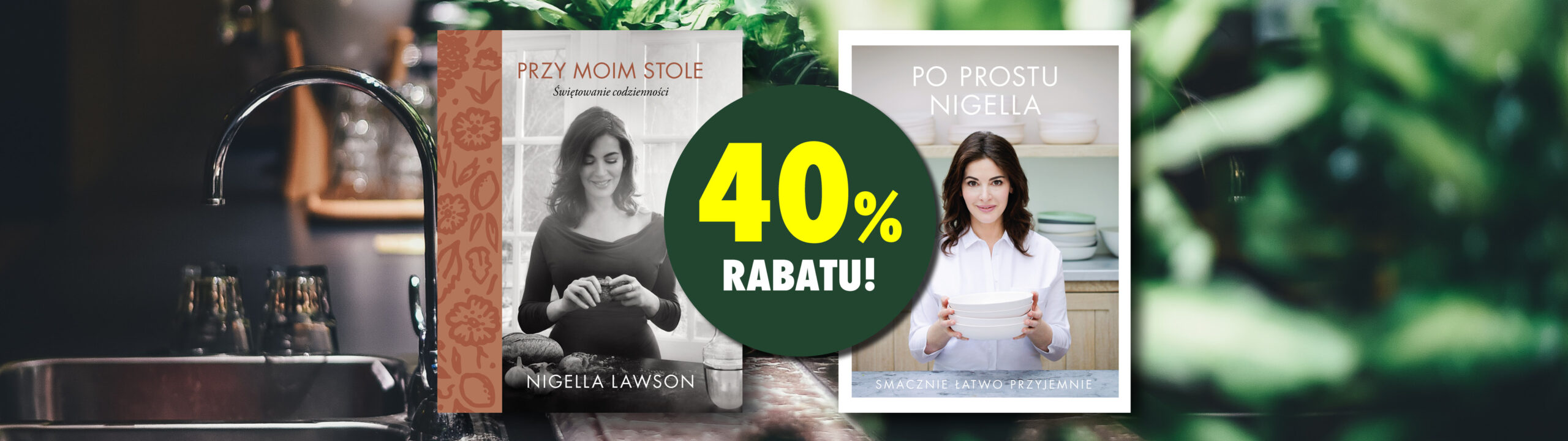 40% rabatu na książki Nigelli Lawson!